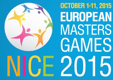 European Masters Games Nice 1. til 11. okt 2015