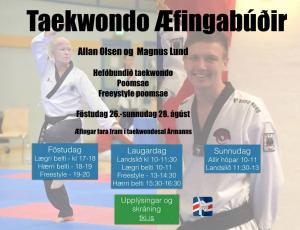 Taekwondo æfingabúðir
