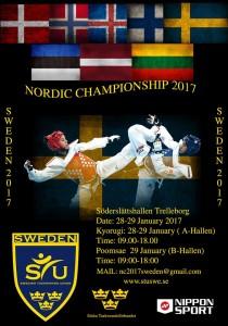 Upplýsingablað fyrir NM í Svíþjóð 28.-29. janúar 2017
